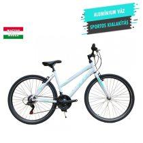 """KPC Roadster Eco Lady alumínium női crosstrekking kerékpár 19"""" Fehér-Menta"""