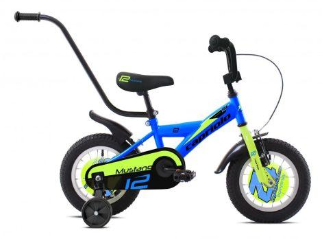 """Capriolo Mustang 12"""" gyerek kerékpár Kék-Zöld"""