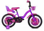 """Capriolo Viola 16"""" gyerek kerékpár Lila 2020"""