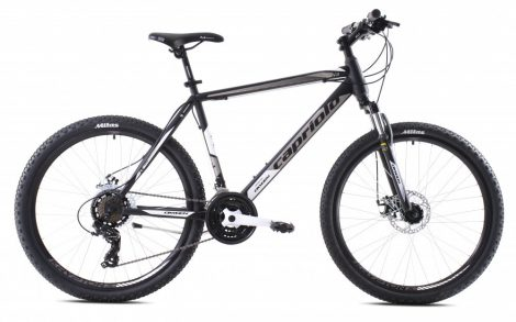 """Capriolo Oxigen 26"""" férfi MTB kerékpár 20"""" Fekete-Szürke"""