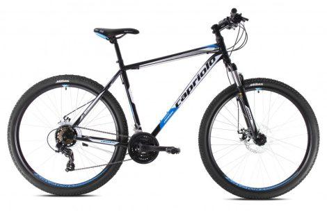 """Capriolo Oxigen 29er kerékpár 19"""" Fekete-Fehér-Kék 2020"""