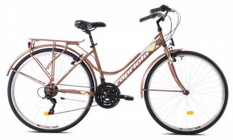 "Capriolo Sunrise Lady női trekking kerékpár 19"" Bronz"