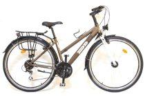 Csepel Trotter női trekking kerékpár Barna