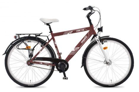 Csepel Fractal férfi városi kerékpár több felszereltség