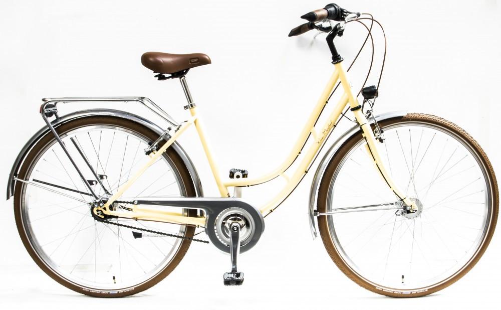 7b4d05571f40 Csepel Weiss Manfréd 7 sebességes női városi kerékpár több színben ...