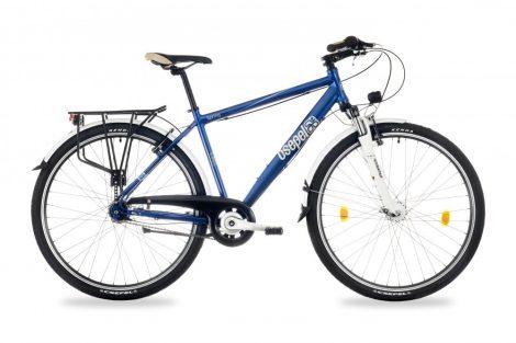 """Csepel Spring 200 férfi városi kerékpár 19"""" Kék"""