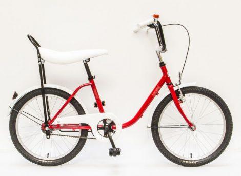 Schwinn Csepel Tacskó lány gyermek kerékpár Piros