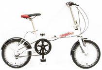 Csepel Mini 100 összecsukható kerékpár Fehér