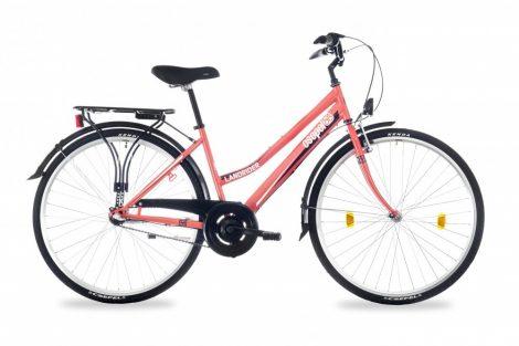 """Schwinn Csepel Landrider női agyváltós városi kerékpár 17"""" Korall"""