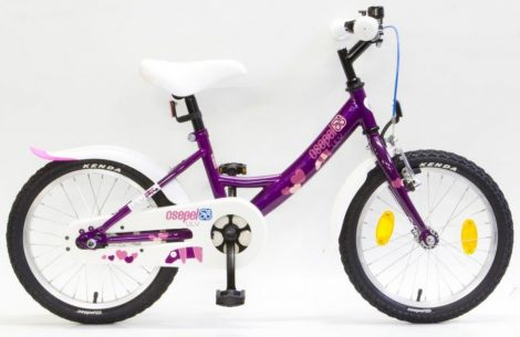 Schwinn Csepel Lily 16 gyermek kerékpár Lila