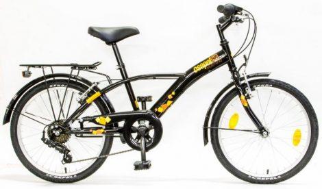 Schwinn Csepel Mustang 20 gyermek kerékpár Fekete
