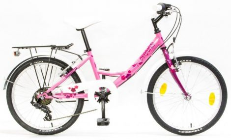 Schwinn Csepel Flora 20 gyermek kerékpár Rózsaszín