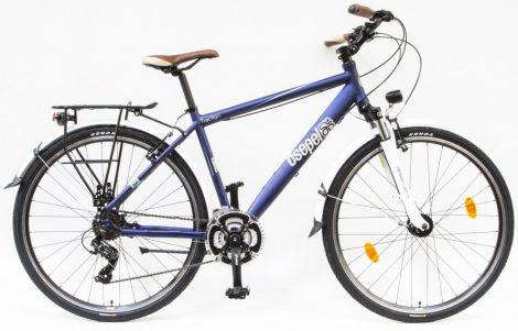 """Csepel Traction 200 férfi trekking kerékpár 19"""" Kék"""