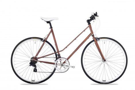 Csepel Torpedo 3* női 51cm fitness kerékpár Barna