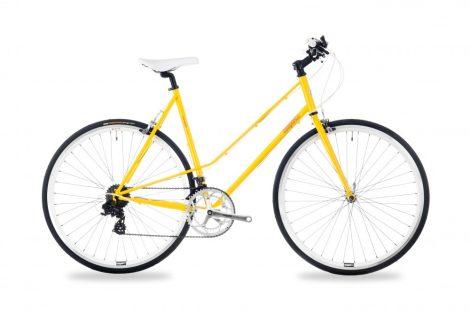 Csepel Torpedo 3* női 51cm fitness kerékpár Sárga