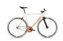 Csepel Royal ALU férfi fixi kerékpár Krém
