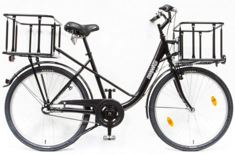 Schwinn Csepel Pick Up 26 agyváltós városi kerékpár Fekete