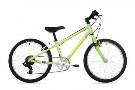 Woodlands Zero 6 sebességes alu 20 gyermek kerékpár Zöld