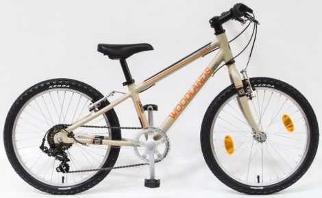 Woodlands Zero 6 sebességes alu 20 gyermek kerékpár Homok