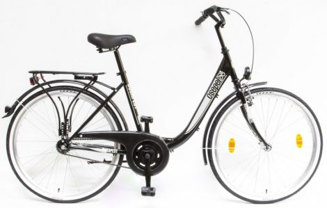 Schwinn Csepel Budapest B 26 kontrás városi kerékpár Fekete