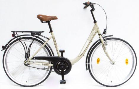 Schwinn Csepel Budapest B 26 kontrás városi kerékpár Drapp