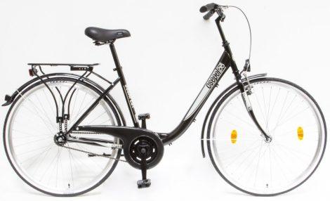 Schwinn Csepel Budapest B 28 kontrás városi kerékpár Fekete