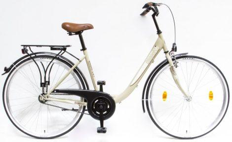 Schwinn Csepel Budapest B 28 kontrás városi kerékpár Drapp