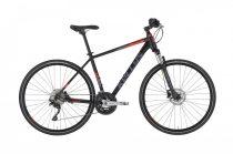 Kellys Phanatic 50 férfi crosstrekking kerékpár Fekete