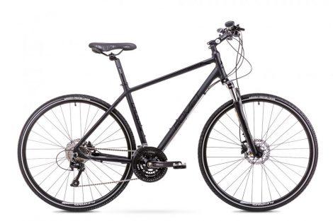 Romet Orkan 6 férfi crosstrekking kerékpár Fekete