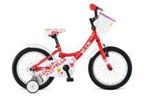 Dema Ella 16 gyerek kerékpár piros