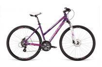 Dema Loara 5.0 női crosstrekking kerékpár Lila