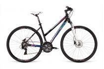 Dema Loara 3.0 női crosstrekking kerékpár Fekete
