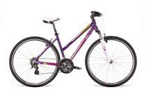 Dema Gaeta 5.0 női crosstrekking kerékpár Lila