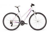 Dema Gaeta 3.0 női crosstrekking kerékpár Fehér
