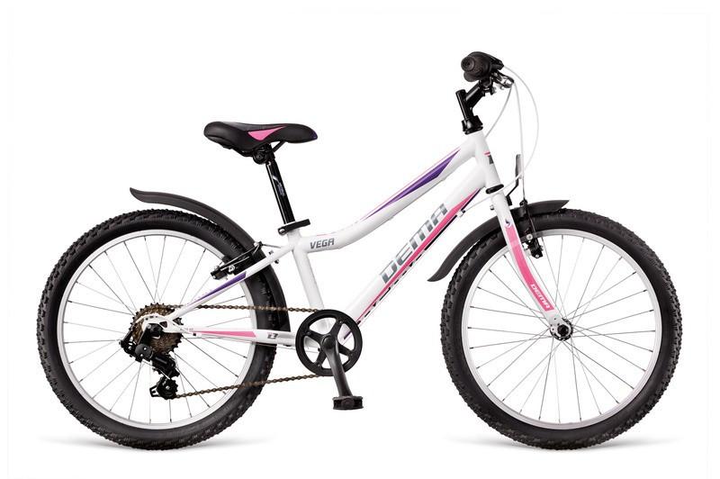 Dema Vega 6 sebességes 20 gyerek kerékpár Fehér - KerékpárCity ... 8fd605be55