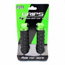 BikeForce Skull bilincses markolat fekete-zöld