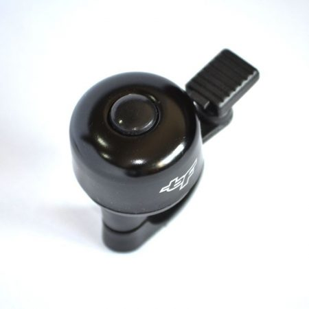 BikeForce fekete pöcöktetős csengő