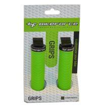 BikeForce Lock-On bilincses markolat zöld