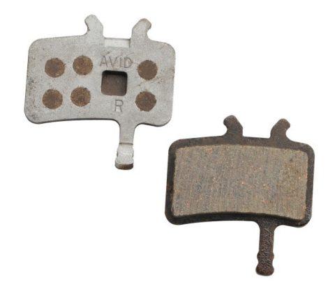 Zoggie BFA801 alu hátlapos fékbetét
