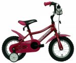 Hauser Puma 12 gyermek kerékpár Sötétrózsaszín