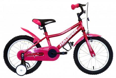 Hauser Puma 16 gyermek kerékpár Sötétrózsaszín