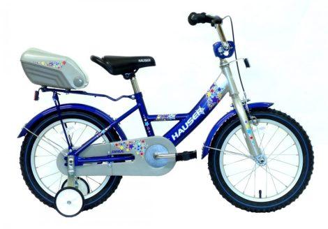 Hauser Swan 16 gyermek kerékpár Ezüst-Kék