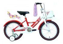 Hauser Swan 16 gyermek kerékpár Fehér-Piros