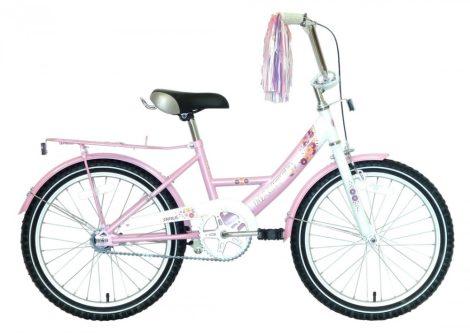 Hauser Swan 20 gyermek kerékpár Fehér-Rózsaszín