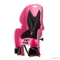 Koliken csomagtartóra szerelhető gyerekülés pink