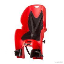 Koliken csomagtartóra szerelhető gyerekülés piros