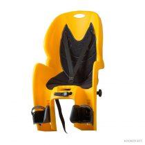 Koliken csomagtartóra szerelhető gyerekülés sárga