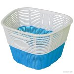 Koliken pálcás műanyag kosár fehér-kék