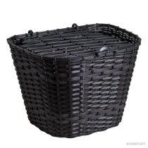 Koliken pálcás műanyag kosár fekete