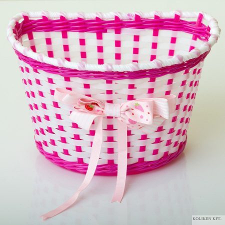 Gyerek pink masnis kosár